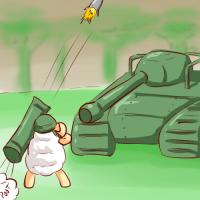 artist:furiousrockets game:ranger_mission sheep // 500x500 // 173.8KB
