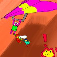 artist:guntanks_in_space char:boggy char:fast_freddie char:monkey_(boggy_84) game:boggy_84 game:fast_freddie game:fly_boy game:jump_coaster // 480x480 // 242.2KB
