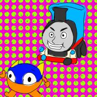 artist:guntanks_in_space char:thomas_the_tank_engine char:zupapa game:zupapa! // 720x720 // 231.6KB