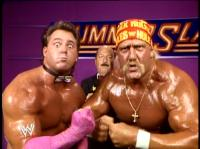 "Brutus_""The_Barber""_Beefcake hulk_hogan mean_gene_okerlund summerslam wwf // 402x301 // 196.7KB"