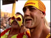 "Brutus_""The_Barber""_Beefcake hulk_hogan mask wrestlemania wwf // 413x309 // 184.7KB"