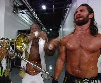 Dancing Raw Seth_Rollins The_New_Day autoplay_gif clapping gif kofi_kingston trombone wwe wwe_tag_team_championship xavier_woods // 200x165 // 4.0MB
