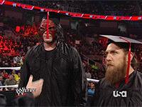 Dr._Shelby Raw Team_Hell_No autoplay_gif daniel_bryan gif hat kane mask wwe // 200x150 // 2.5MB