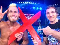 Motor_City_Machine_Guns alex_shelley chris_sabin destination_x peace_sign pointing smiling tna // 424x318 // 218.4KB
