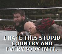 Finn_Balor Kevin_Owens The_Beast_In_The_East animated_macro autoplay_gif gif kevin_steen wwe // 200x174 // 2.0MB