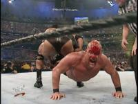 blood sharpshooter stone_cold_steve_austin the_rock wrestlemania wwf yelling // 640x480 // 77.8KB