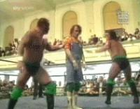 Total_Elimination autoplay_gif ecw gif hugging kronus perry_saturn referee spike_dudley the_eliminators // 190x149 // 918.0KB