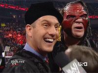 Dr._Shelby Raw Team_Hell_No autoplay_gif daniel_bryan gif hat hugging kane mask microphone smiling wwe // 200x150 // 3.1MB