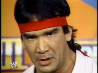 "Ricky_""The_Dragon""_Steamboat headband wrestlemania wwf // 412x308 // 160.3KB"