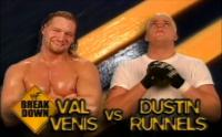 breakdown dustin_runnels in_your_house match_card smiling val_venis wwf // 720x449 // 421.9KB