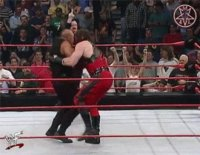 Raw bull_buchanan chokeslam gif kane paul_bearer wwf // 330x257 // 2.9MB