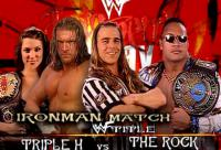 WWF_Women's_Championship arms_folded hunter_hearst_helmsley judgment_day match_card raised_eyebrow referee shawn_michaels stephanie_mcmahon sunglasses the_rock wwf wwf_championship // 720x490 // 537.0KB