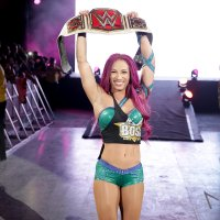 WWE_Women's_Championship sasha_banks smiling wwe // 1600x1600 // 861.5KB