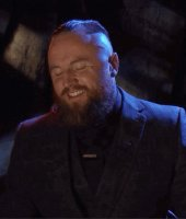 Aleister_Black gif laughing smackdown smiling suit wwe // 408x480 // 2.8MB