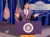 Barack_Obama_impersonator capitol_punishment microphone smiling suit wwe // 424x318 // 226.4KB