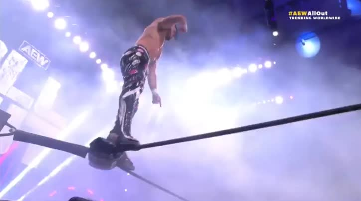 AEW All_Out Matt_Sydal botch webm // 725x403 // 1.0MB