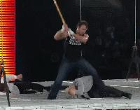 Dean_Ambrose Seth_Rollins autoplay_gif gif hell_in_a_cell jamie_noble joey_mercury kendo_stick wwe // 200x157 // 4.6MB