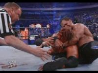autoplay_gif blood chris_benoit crossface earl_hebner gif hunter_hearst_helmsley referee tapping wrestlemania wwe wwe_world_heavyweight_championship // 192x144 // 947.9KB