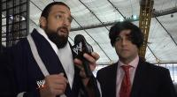 The_JBL_And_Cole_Show Tony_Dawson damien_sandow microphone suit wig wwe // 854x470 // 463.6KB