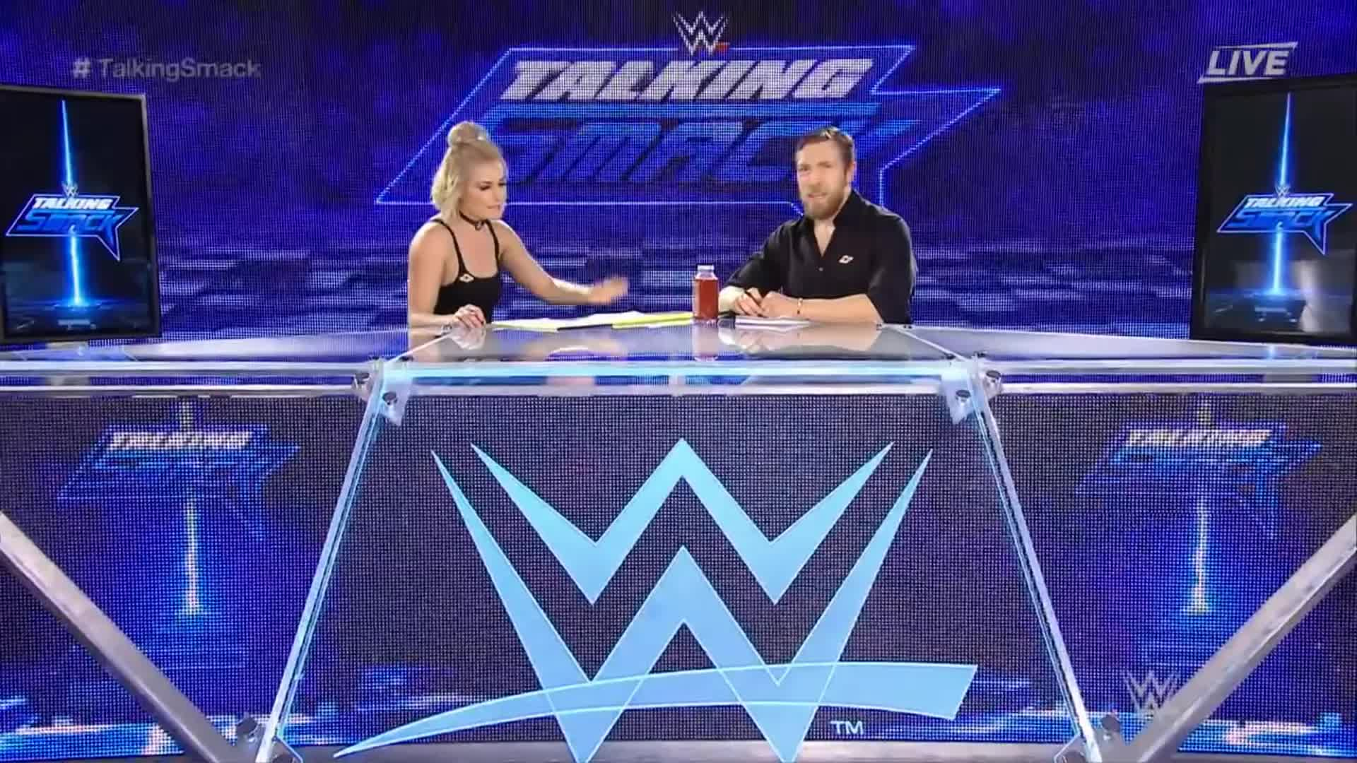 Renee_Young Talking_Smack botch daniel_bryan webm wwe // 1920x1080 // 2.0MB