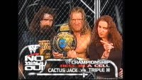 cactus_jack hunter_hearst_helmsley match_card mick_foley no_way_out stephanie_mcmahon wwf // 1280x720 // 107.0KB