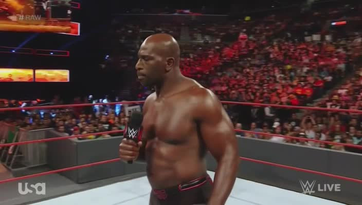 Raw microphone pointing titus_o'neil webm wwe // 704x400 // 7.0MB