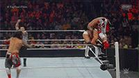 The_Usos autoplay_gif gif jey_uso jimmy_uso pin powerbomb referee royal_rumble the_miz wwe // 200x113 // 4.8MB