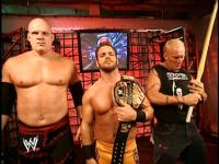 chris_benoit cyber_sunday frowning kane kendo_stick the_sandman wwe wwe_united_states_championship // 424x318 // 236.4KB
