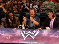 booker_t capitol_punishment crown glasses jerry_lawler michael_cole pointing suit wwe // 424x318 // 240.3KB