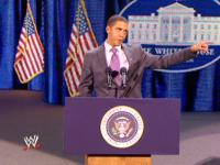 Barack_Obama_impersonator capitol_punishment microphone pointing suit wwe // 424x318 // 227.8KB