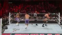 Raw autoplay_gif gif jack_swagger jey_uso jimmy_uso referee superkick wwe // 200x113 // 1.5MB