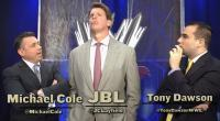 The_JBL_And_Cole_Show Tony_Dawson arms_folded john_bradshaw_layfield michael_cole suit wwe // 854x470 // 510.9KB