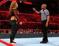 Raw autoplay_gif gif mickie_james pointing referee wwe yelling // 200x157 // 3.5MB