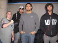 Dean_Ambrose Roman_Reigns Seth_Rollins The_Shield glasses hat headphones shield_stalker sunglasses // 598x448 // 37.2KB