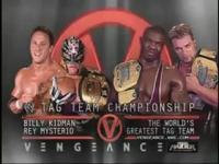 WWE_Cruiserweight_Championship billy_kidman charlie_haas mask match_card rey_mysterio shelton_benjamin vengeance world's_greatest_tag_team wwe wwe_tag_team_championship // 320x240 // 14.8KB