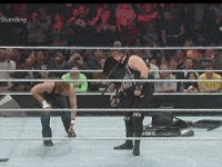 Dean_Ambrose Kevin_Owens autoplay_gif chair charles_robinson gif kevin_steen referee royal_rumble wwe // 200x150 // 4.2MB
