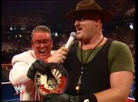 brother_love bruce_prichard glasses hat microphone sgt._slaughter sunglasses wwf // 402x301 // 188.7KB