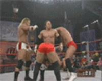 A1 autoplay_gif bobby_roode canadian_destroyer gif petey_williams team_canada tna // 160x128 // 961.1KB