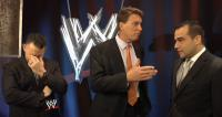 The_JBL_And_Cole_Show Tony_Dawson facepalm john_bradshaw_layfield michael_cole suit wwe // 854x456 // 377.5KB