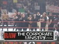 Raw The_Corporate_Ministry big_boss_man chyna hunter_hearst_helmsley john_bradshaw_layfield mean_street_posse paul_bearer pete_gas rodney ron_simmons shane_mcmahon undertaker viscera wwf // 512x384 // 345.2KB