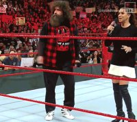 Dancing Raw gif mick_foley pointing stephanie_mcmahon wwe // 420x375 // 1.9MB