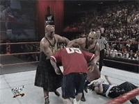 Insane_Clown_Posse Jimmy_Korderas Mosh Raw Shaggy_2_Dope The_Headbangers Thrasher Violent_J autoplay_gif gif referee suplex wwf // 200x150 // 2.9MB