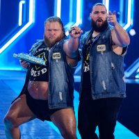 Heavy_Machinery Otis_Dozovic Tucker pointing smackdown wwe // 1600x1600 // 1.2MB