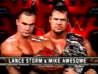 arms_folded frowning lance_storm mike_awesome wcw wwf wwf_hardcore_championship // 512x389 // 152.7KB