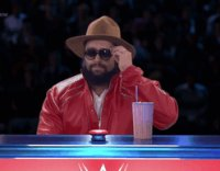 Rusev The_Edge_And_Christian_Show_That_Totally_Reeks_Of_Awesomeness autoplay_gif gif hat sign sunglasses wwe // 248x194 // 3.4MB