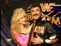 Rhonda_Shear burt_reynolds celebrity smiling wrestlemania wwf // 412x308 // 221.8KB