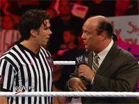 Brad_Maddox Raw autoplay_gif gif microphone paul_heyman referee suit wwe // 200x150 // 3.8MB