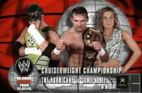 WWE_Cruiserweight_Championship global_warning_tour jamie_noble match_card nidia_guenard the_hurricane thumbs_up wwe // 277x182 // 11.1KB