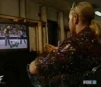 albert autoplay_gif christian eating edge pointing popcorn smackdown sunglasses tv wwf // 200x173 // 914.3KB