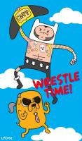 adventure_time cm_punk fanart paul_heyman wwe_championship // 557x948 // 89.9KB